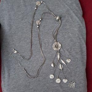 Lia Sophia necklace and bracelet set.